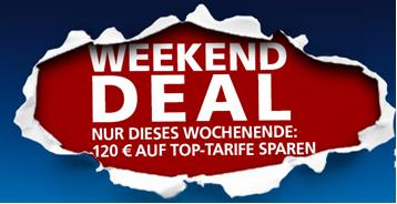 o2 WEEKEND DEAL