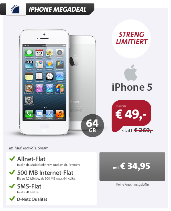 iPhone 5 MEGADEAL